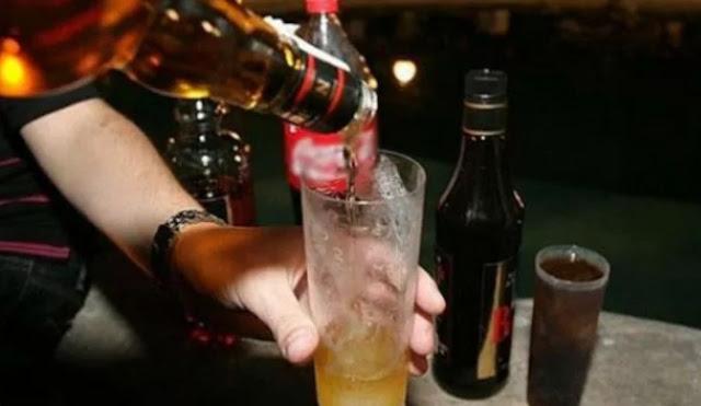 Noche, bebidas