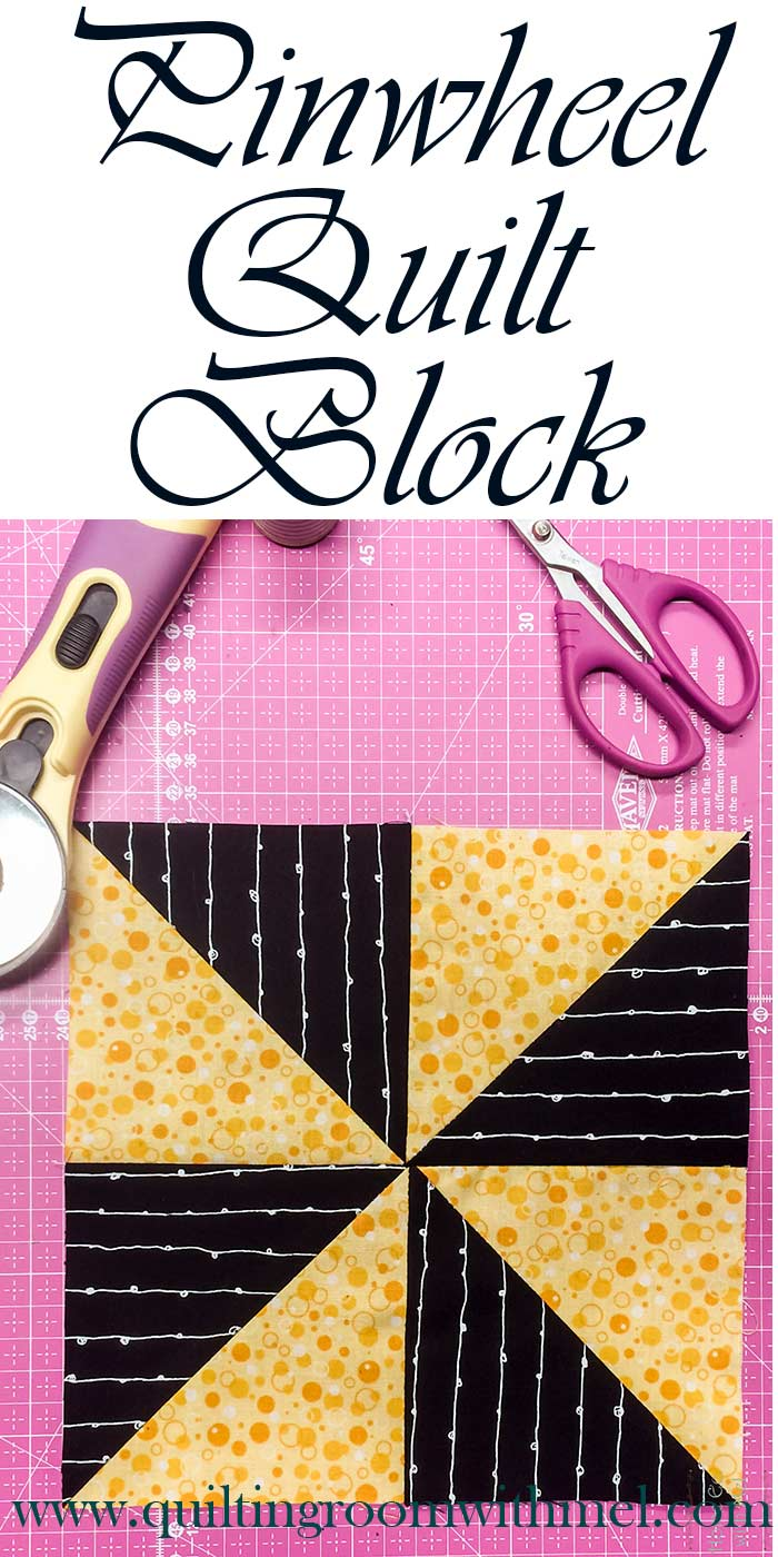 pinwheel quilt block pinterest