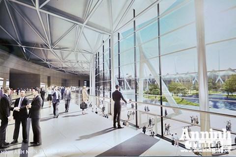 8 khu triển lãm sẽ được xây dựng theo dạng hình tròn