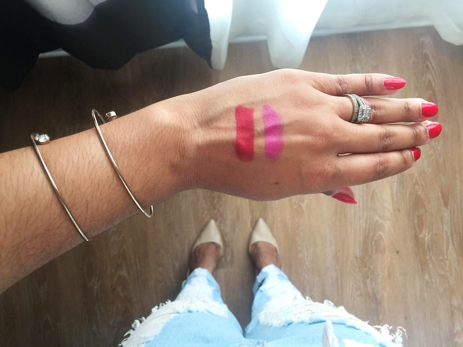 spring makeup, NYX, Milani, Maybelline, Rimmel, lipsticks