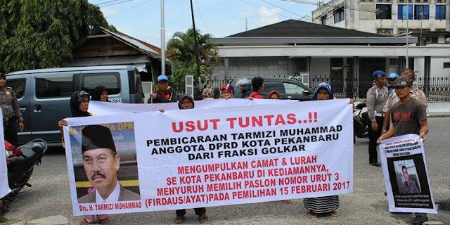 Inspektorat Segera Panggil Camat Tampan yang Diduga Terlibat Politik Praktis Pada Pilkada Kota Pekanbaru