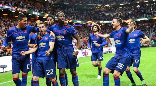 Manchester United, UEFA Avrupa Ligi şampiyonu