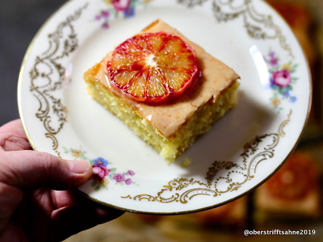 saftiger Rührkuchen mit Zitrusfrüchten