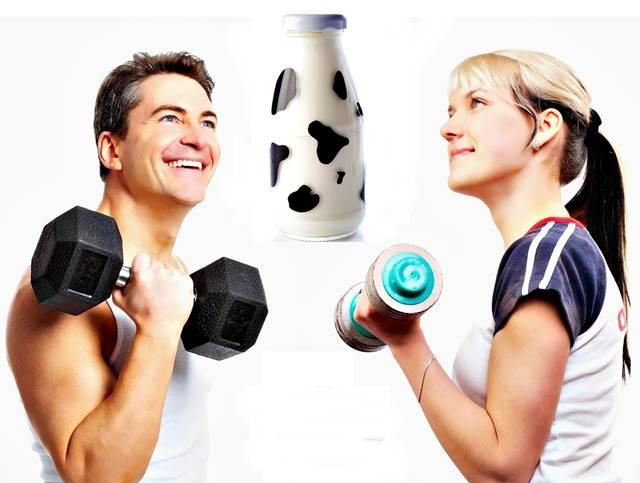 La leche y los derivados lácteos para mejorar la recuperación muscular