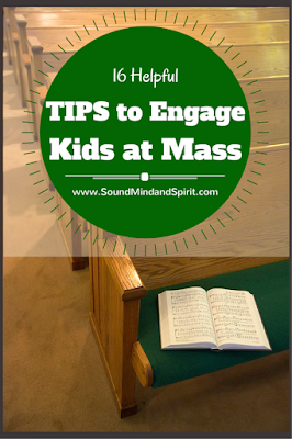 16 Helpful Tips to Engage Kids at Mass