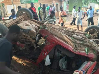 Graphic Photos: Four Final Year Nursing Students Killed In Fatal Auto Crash 13
