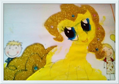 Collage little Pony