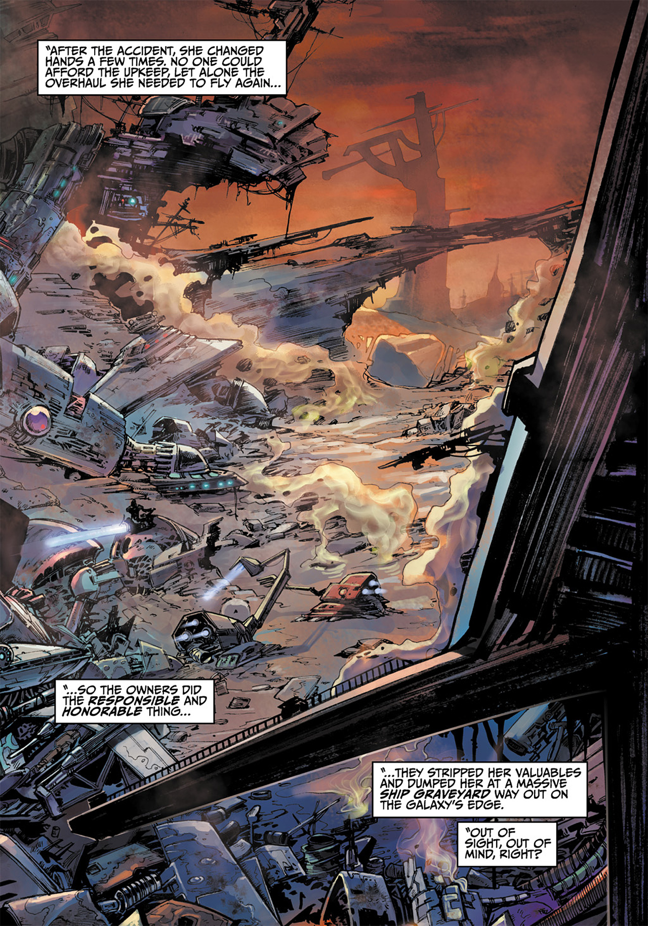Read online Star Wars Adventures comic -  Issue # Issue Boba Fett and the Ship of Fear - 21