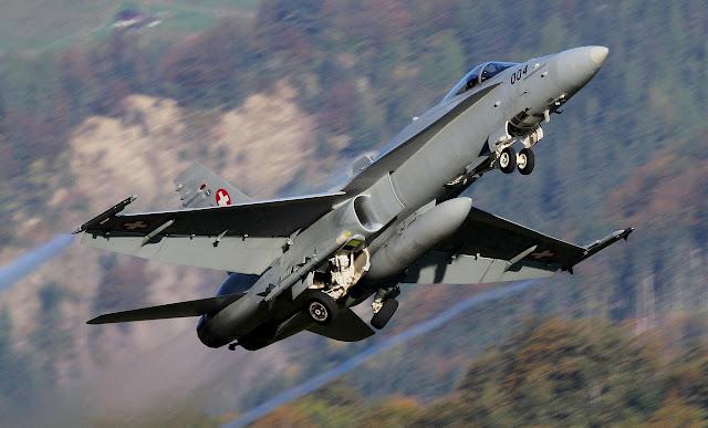 F-18 Hornet of Swiss Air Force