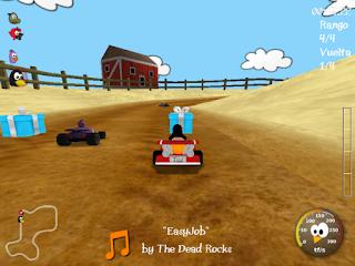super tux kart, un adictivo juego de carreras