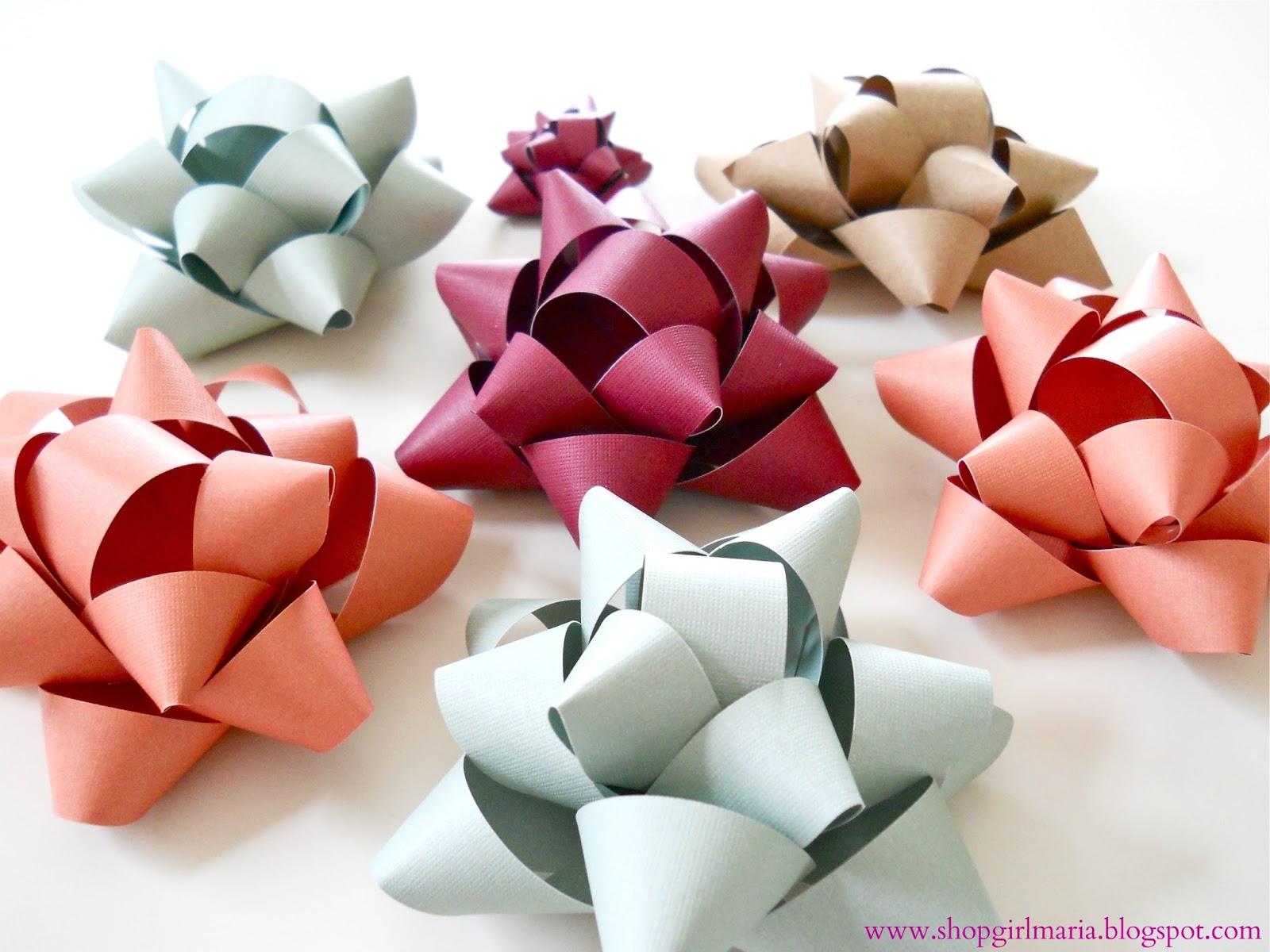 Handmade Paper Bow Tutorial