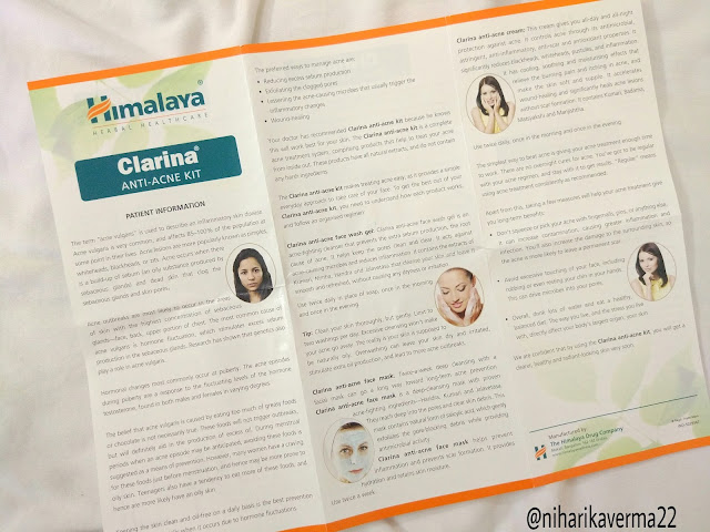 Himalaya Herbal Healthcare - CLARINA Anti-Acne Kit | Review