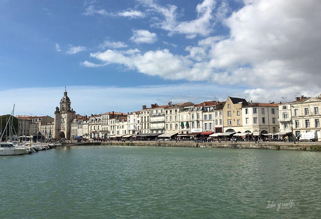 Un día en La Rochelle puerto