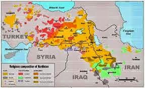 EEUU sigue paso a paso con la idea del Estado kurdo