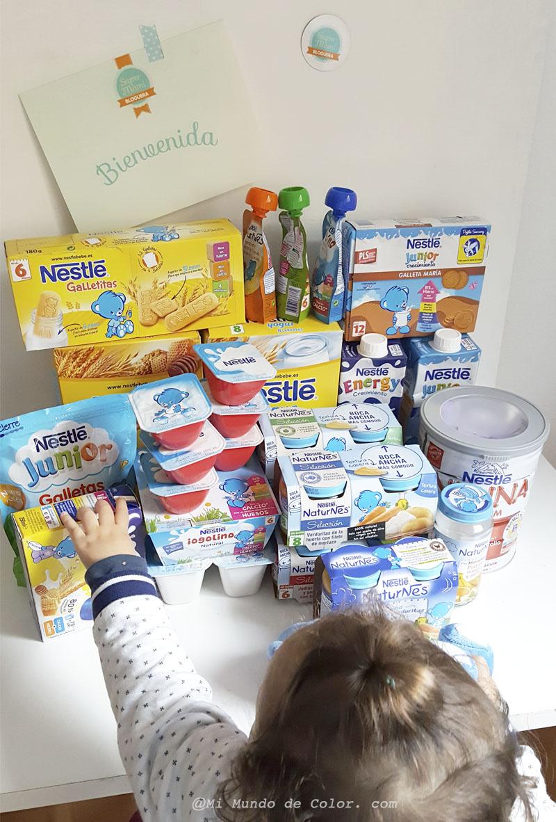 leches de crecimiento y cereales Nestle mi opinión