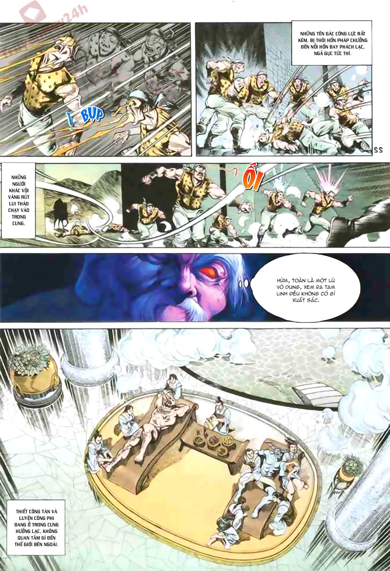 Cơ Phát Khai Chu Bản chapter 85 trang 22
