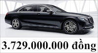 Giá xe Mercedes S450 L Star 2019