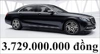 Giá xe Mercedes S450 L Star 2020