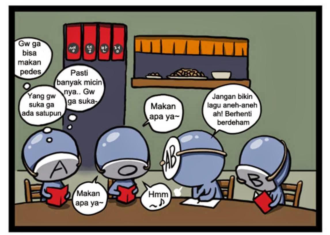 Ebook Komik Golongan Darah