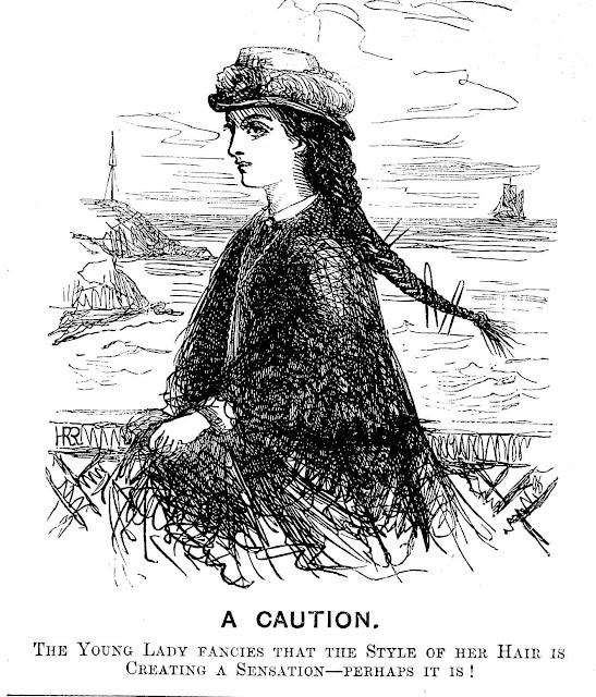 1866 bad girl fashion large illustration