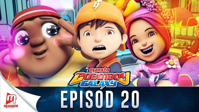 BoBoiBoy Galaxy Episode 20 - Manipulasi Emosi
