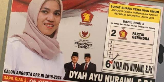 Tidak Terbukti Politik Uang, Caleg Gerindra Riau Dipulangkan