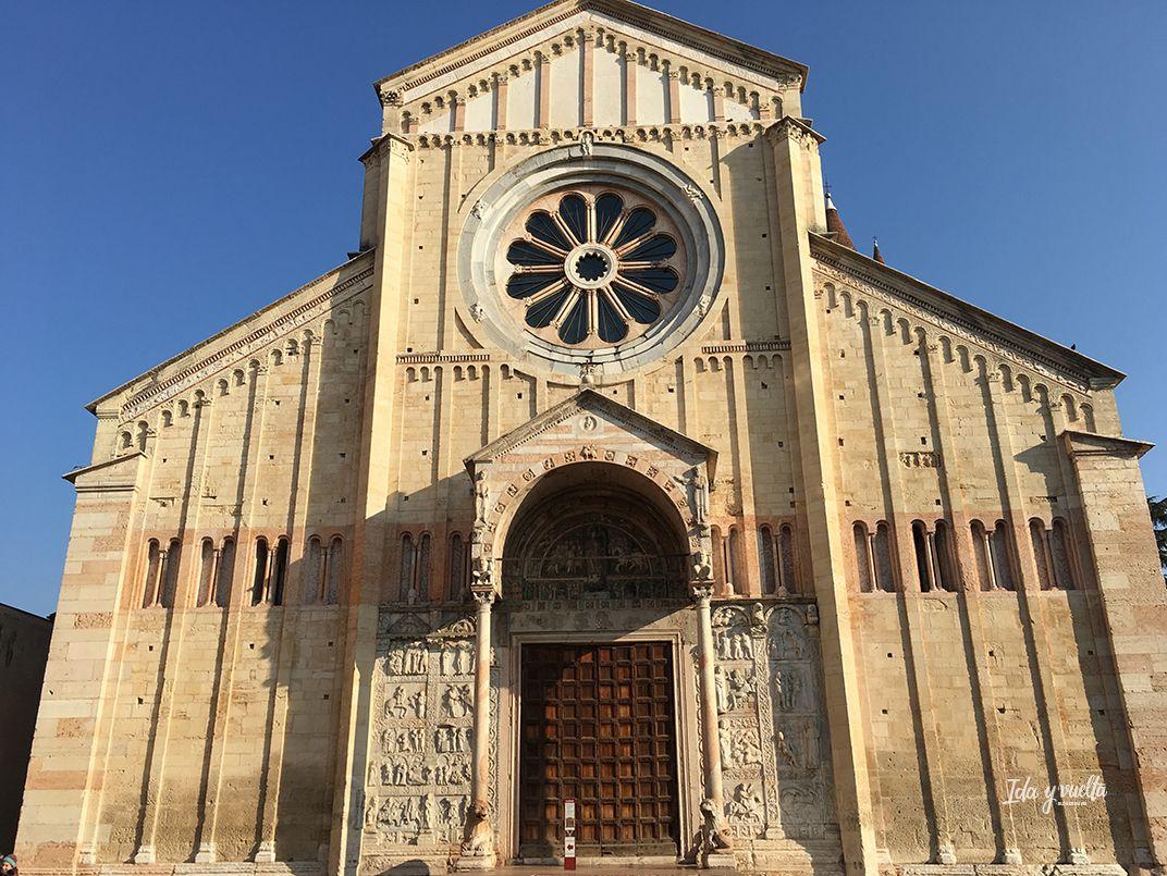 San Zeno Verona, exterior
