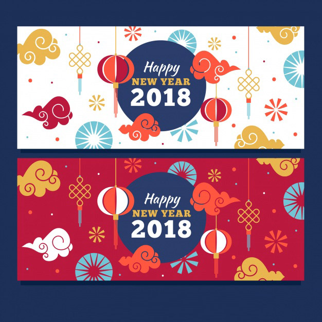 click here in vector banner vector created by freepik flat chinese new year banners free vector by freepik