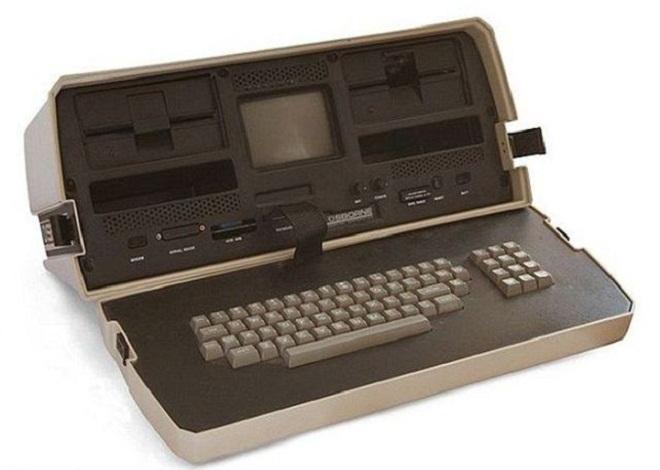 Bentuk laptop pertama kali di dunia yang pernah dibuat dan dijual di pasaran