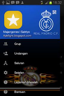 BBM MOD Tema Real Madrid v3.0.0.18 Apk Terbaru