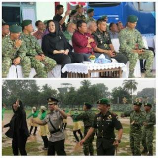 Muspida Karawang Menghadiri Sertijab Komandan Batalyon Infanteri Raider 305 Tengkorak Kostrad