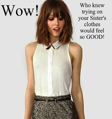 I feel so good Sissy TG Caption - Hard TG Caps - Crossdressing and Sissy Tales and Captioned images