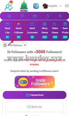 cara menambah followers instagram aktif