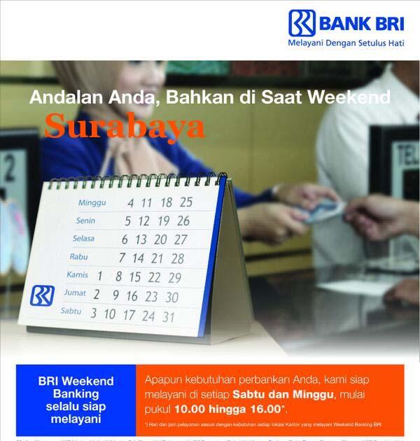 Bank BRI yang buka sabtu minggu di Surabaya update - Maraska