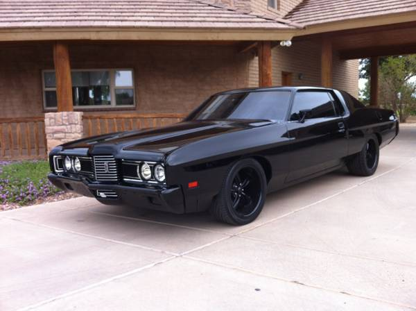 Black Car 1972 Ford Galaxie Buy American Muscle Car
