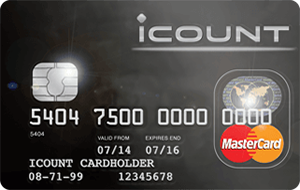 iCount.co.uk offers easy-to-manage prepaid credit card you can use anywhere