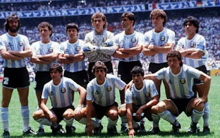 FIFA, World Cup, mexico, 1986, winners, champions, team, Argentina, west germany,  photo , final match.