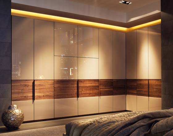 Latest 50 modern bedroom cupboards designs - wooden wardrobe ...