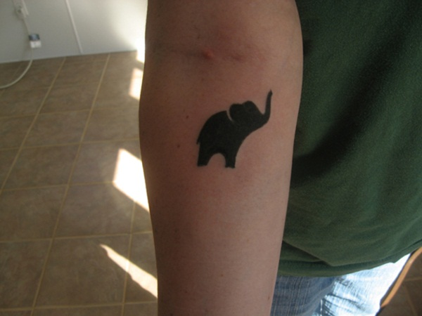 tatuagens de elefante para as meninas