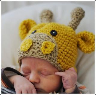 Tığ işi Örgü Bebek Bere Örnekleri 3