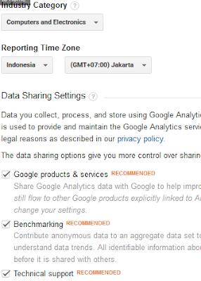 Cara Memasang Google Analytic diBlogspot