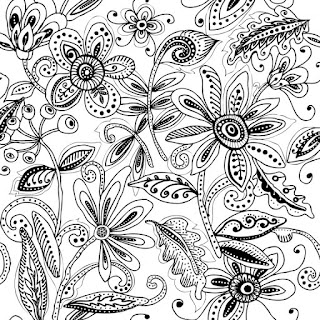 Any type of pattern design free sketch black and white lines, the site that   provides sketch online free, sketch artists work for surface pattern graphic   design, interpretation sketches for many industries
