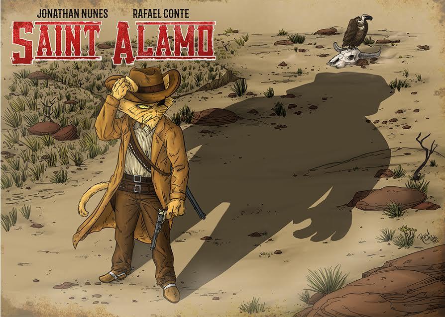 Catarse Western | Entrevista com os autores de Saint Alamo - Balas não sentem culpa
