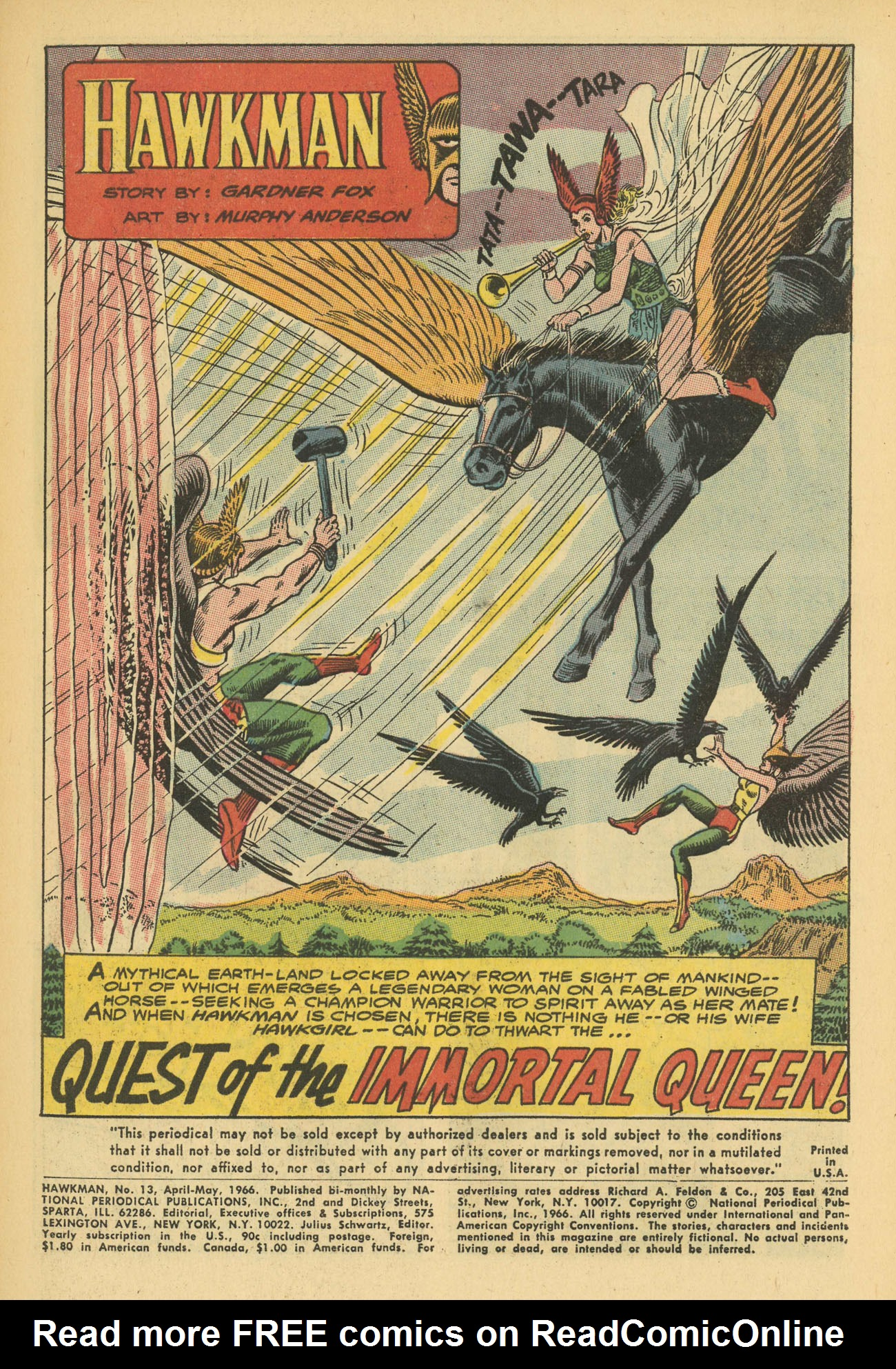 Hawkman (1964) issue 13 - Page 3