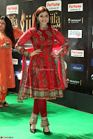 Mannara Chopra and Khushbu in Red at IIFA Utsavam Awards 2017  Day 2  Exclusive 04.JPG