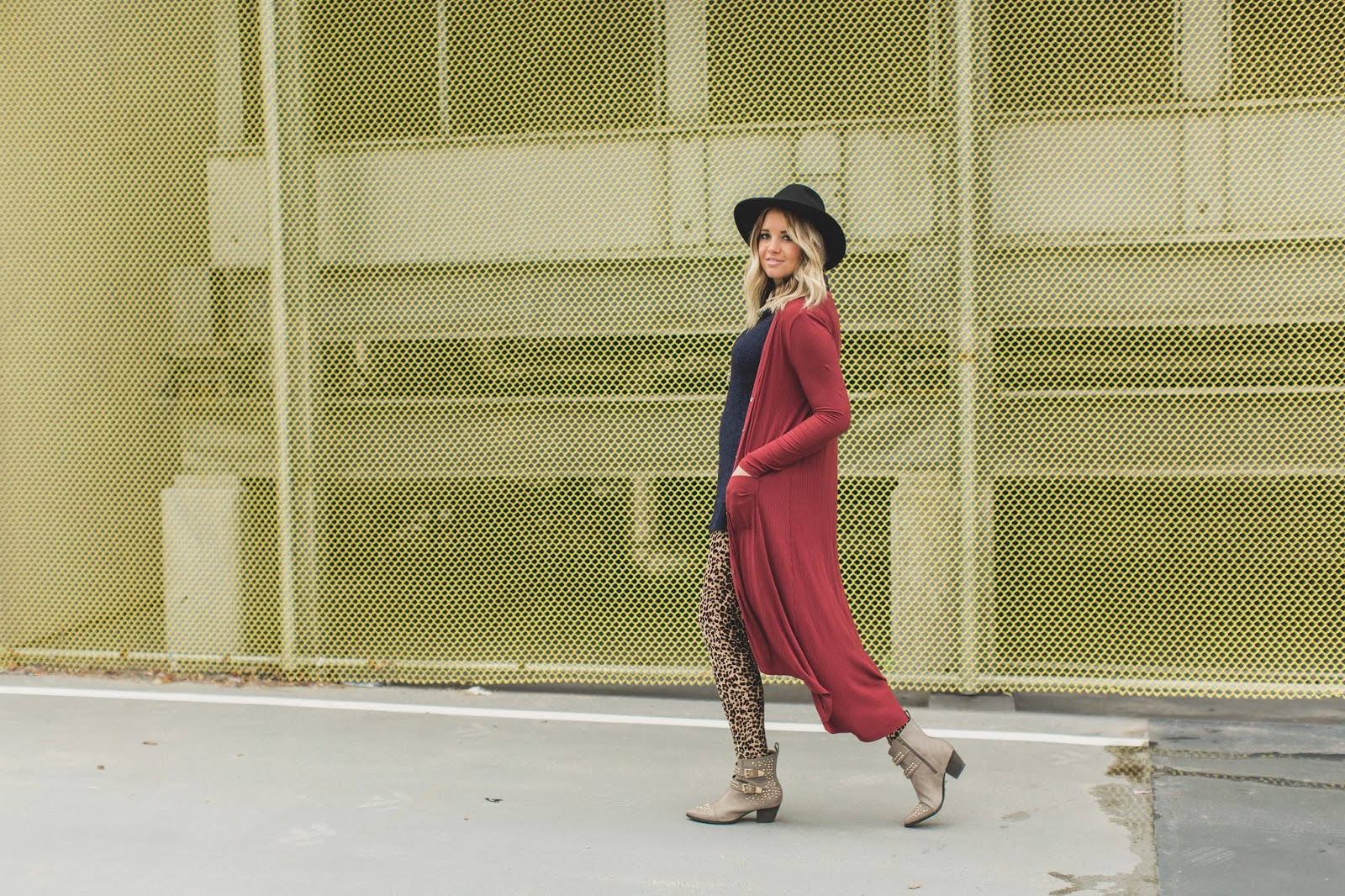 Utah Fashion Blogger, Duster Cardigan, Winter Outfit, Layering