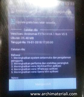 Cara Mudah Update Whatsapp Error di Andromax Prime - Archi