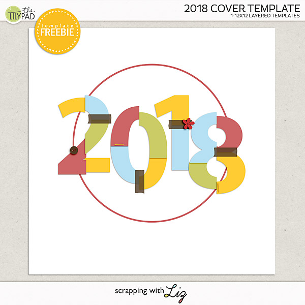 Finished January Calendar & FREE 2018 Cover!