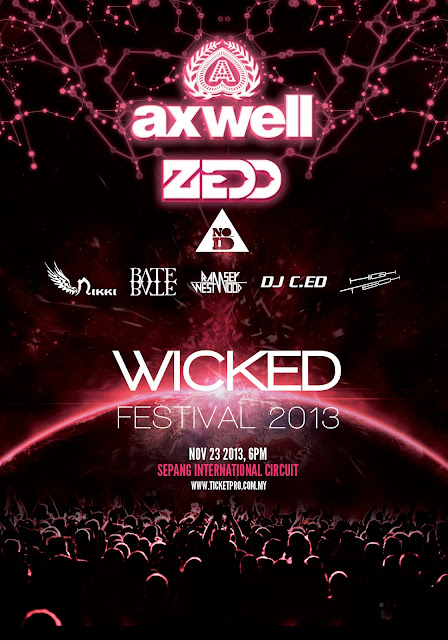 Wicked Festival 2013 - Tickets Giveaway