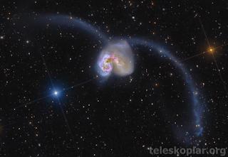 Antennae galaksileri nedir?